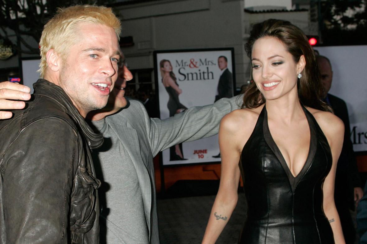 Brad Pitt Angelina Jolie 2005