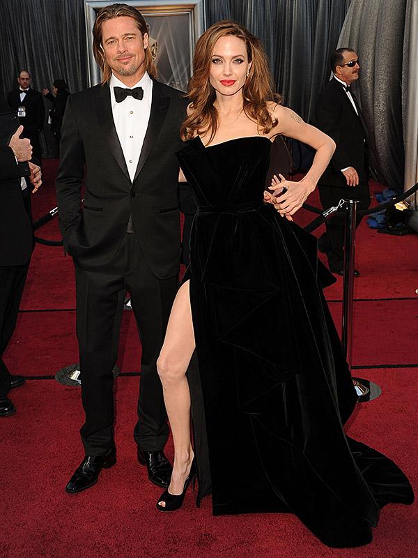Brad Pitt Angelina Jolie 2012