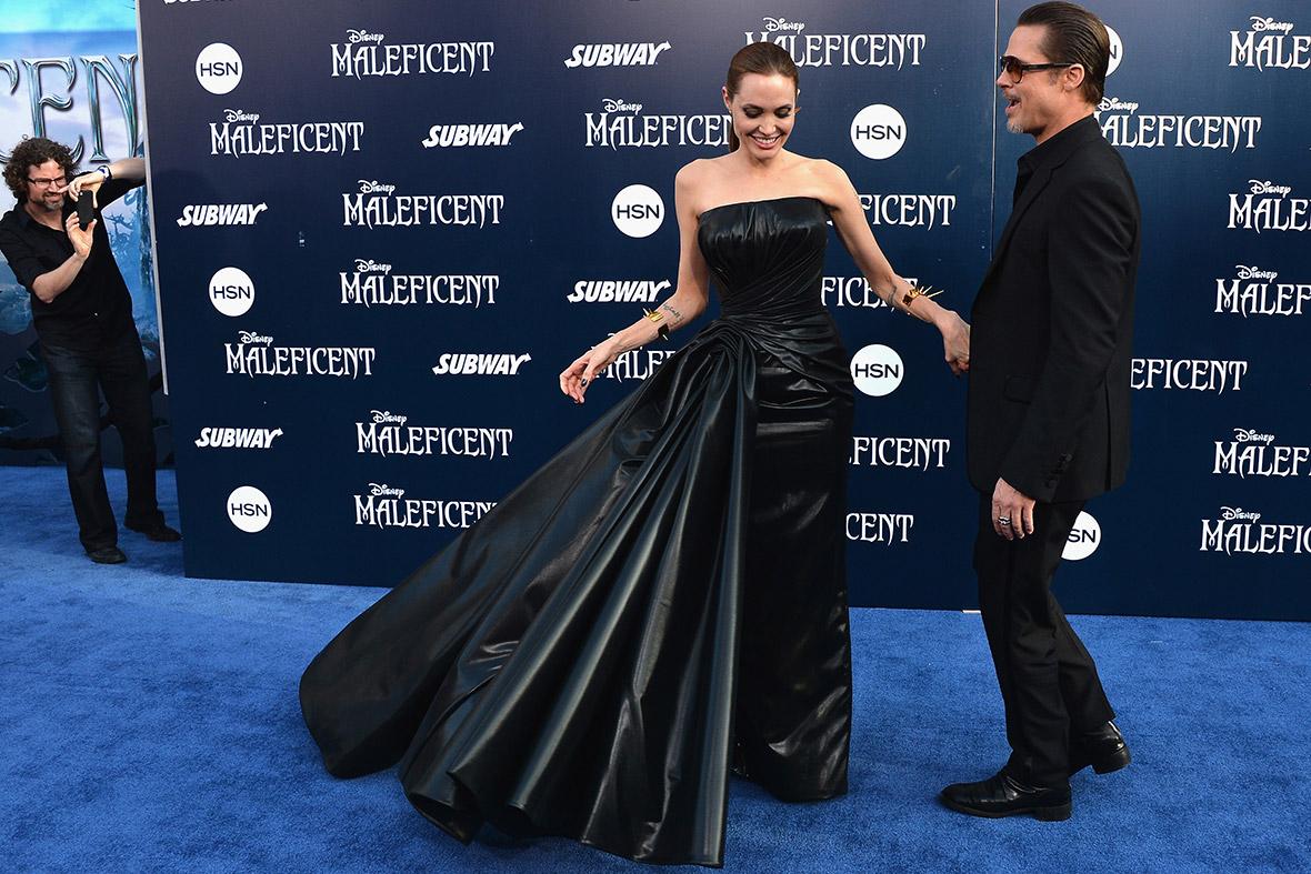 Brad Pitt Angelina Jolie 2014
