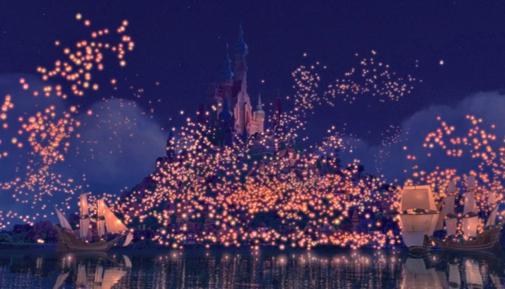 Tangled I See The Light scene