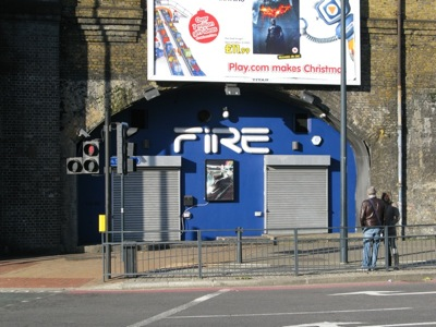 Fire/Lightbox Nightclub, Vauxhall, London