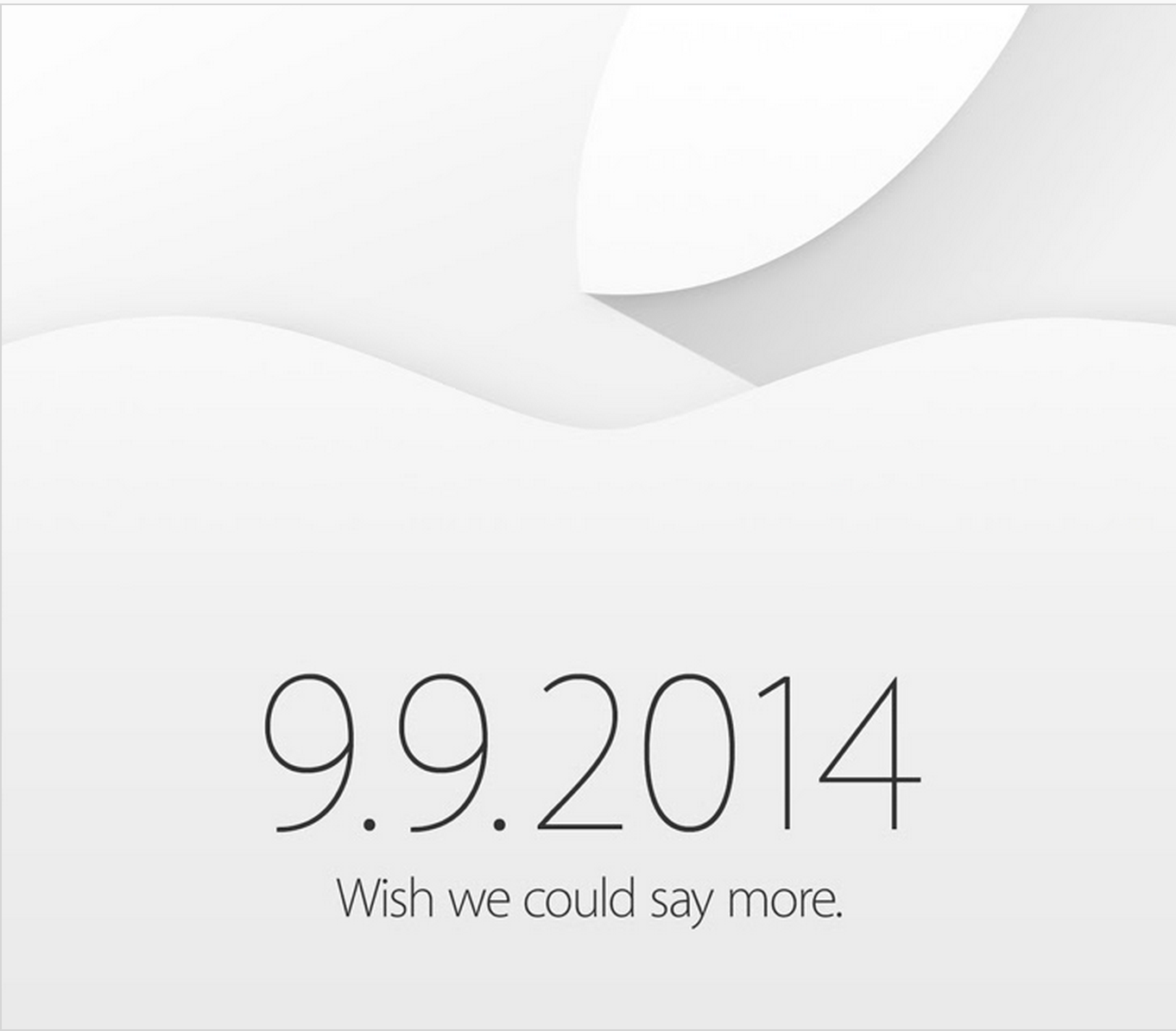 Apple 9 September Media Event Invite