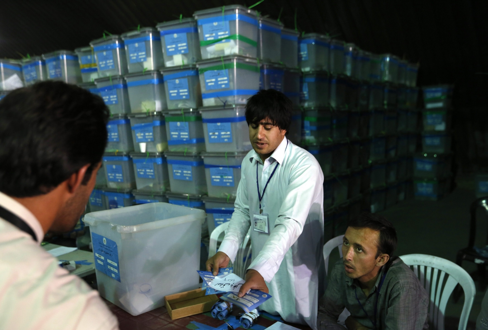 UN: 'Not Possible' to Finish Afghan Vote Audit by Sept. 2