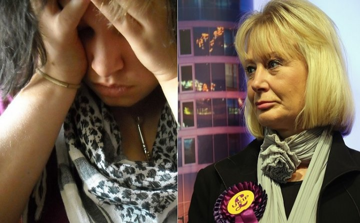 Child sex abuse scandal in Rotherham was condemned by Ukip candidate Jane Collins (right)