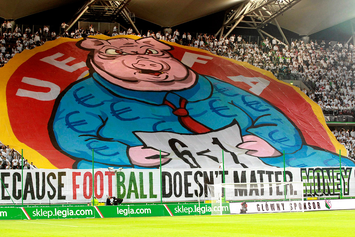 poland pig banner