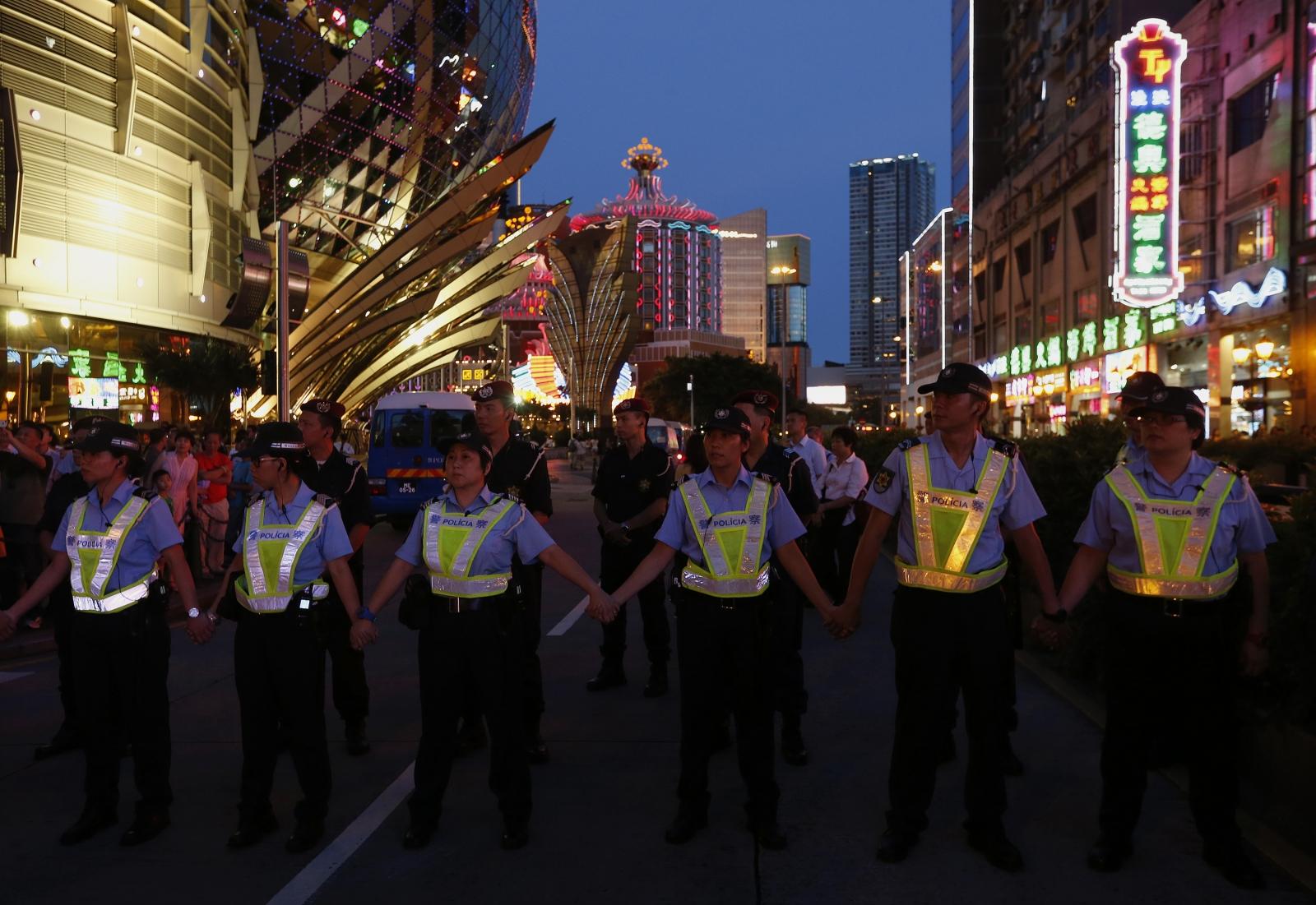 Macau protests