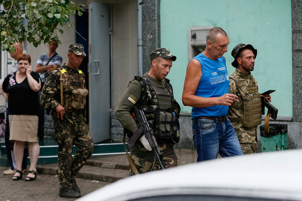 ukraine captured russians