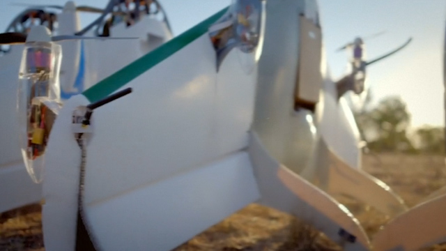 Google Reveals Delivery Drone Prototype