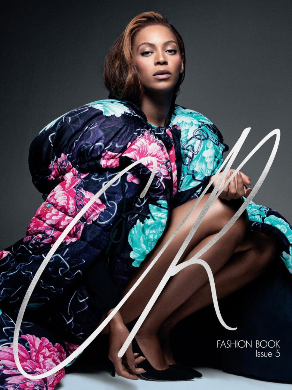 Beyonce CR Fashion Book's cover