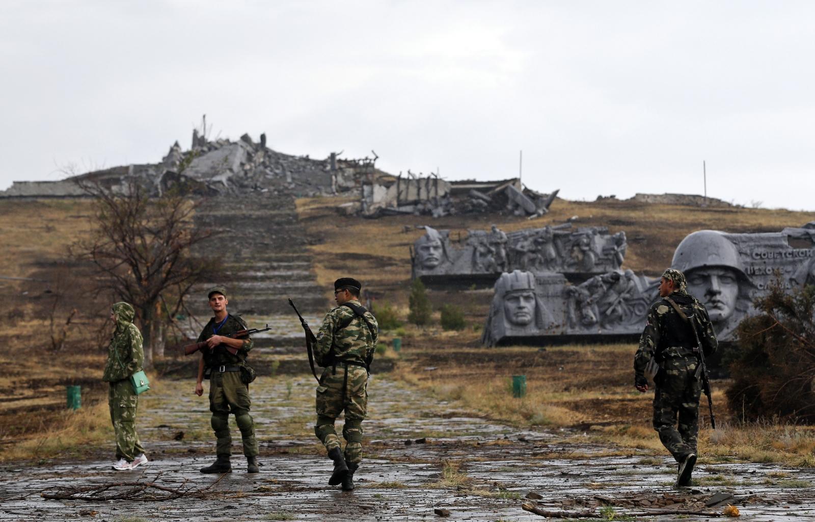 Donetsk Ukraine rebels Nato