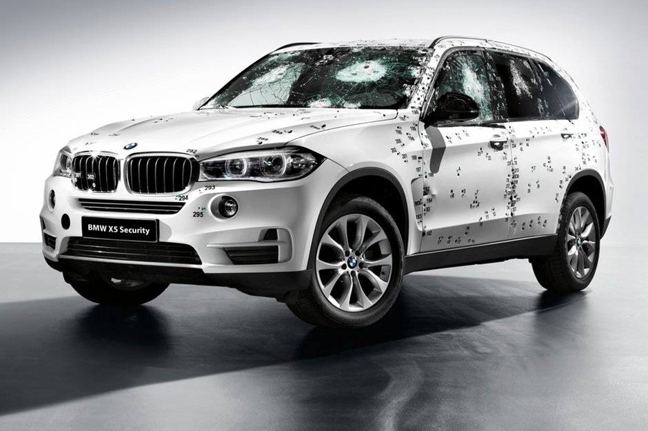 The BMW X5 Security Plus, an armoured car worthy of a spy like James Bond