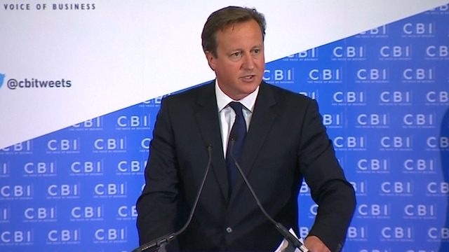 Cameron Warns of Economic Threat from Scottish Breakaway