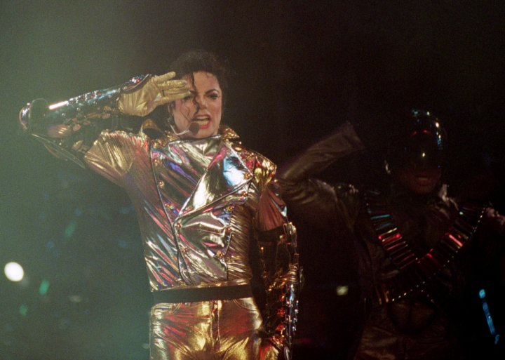 Michael Jackson on the HIStory World Tour in 1996