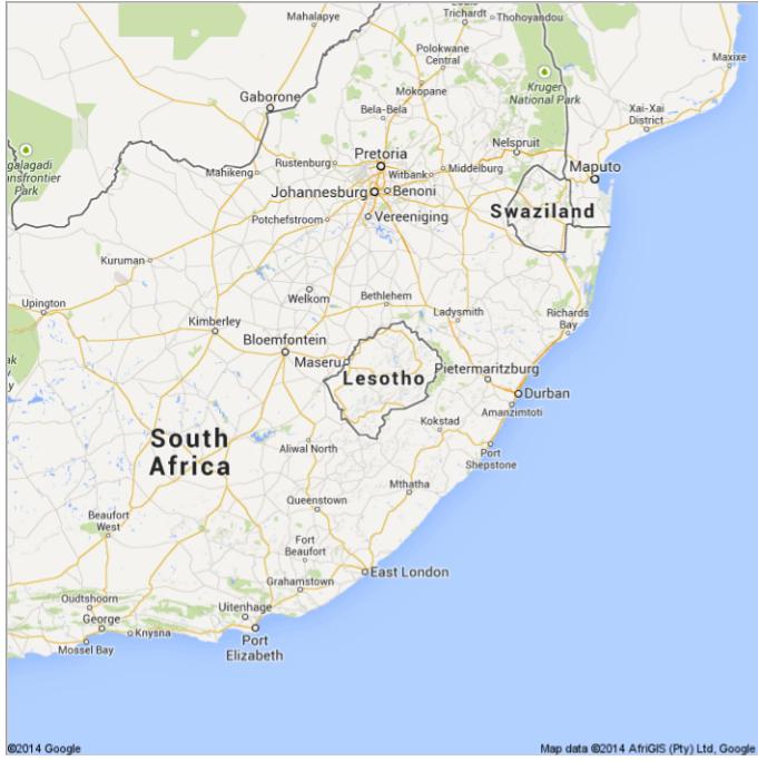 Lesotho Coup