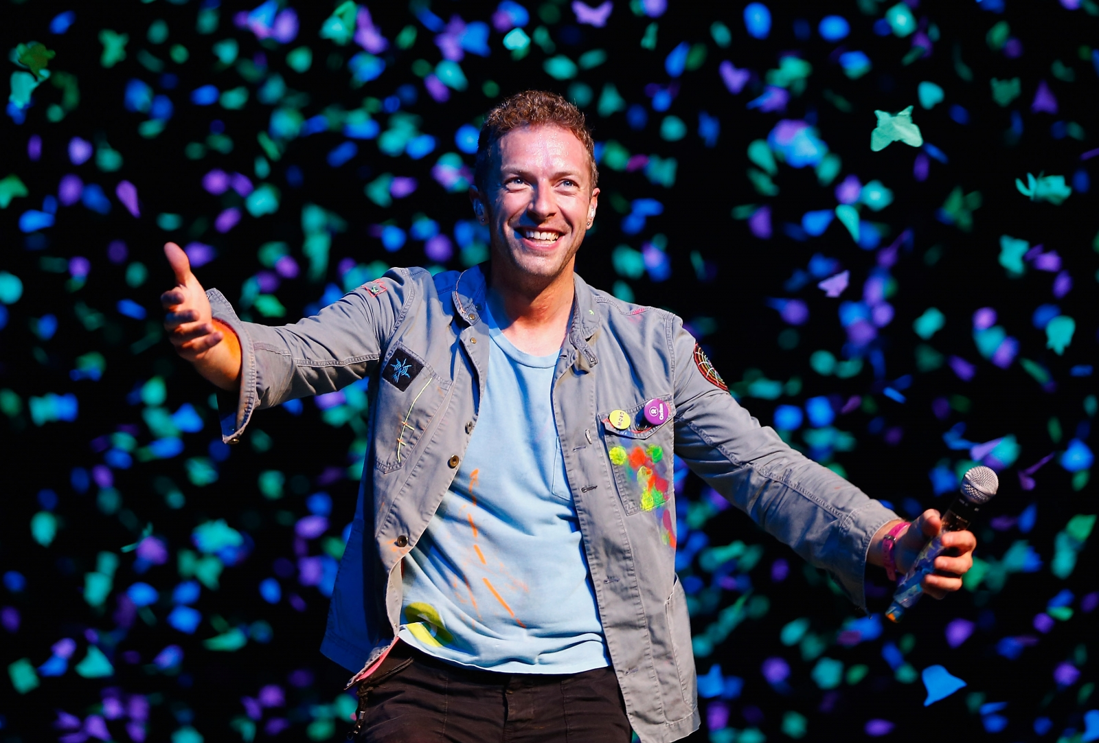 Coldplay singer Chris Martin