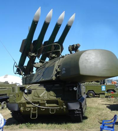 Buk missile system