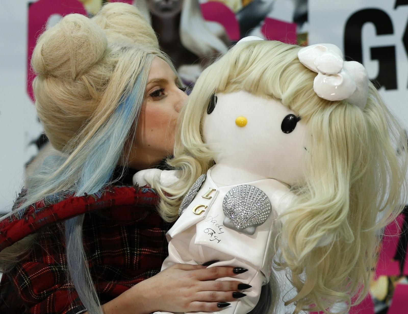 Hello Kitty and Lady Gaga