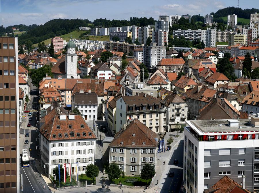 The Swiss town of La Chaux-de-Fonds, where the tragedy occurred.
