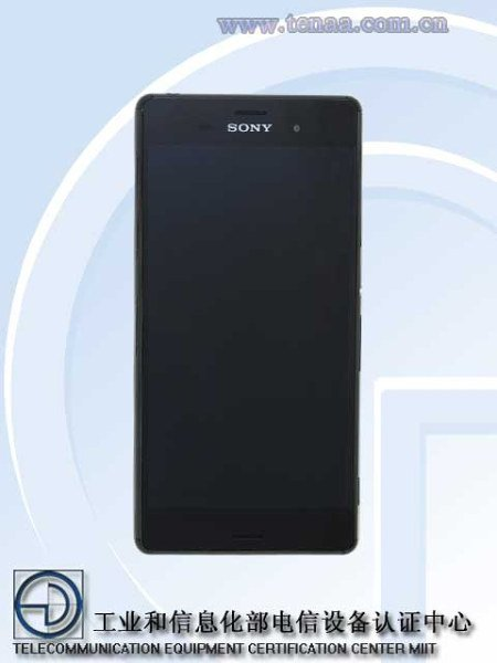 Sony Xperia Z3 Image and Specs Leaked in TENAA Certification
