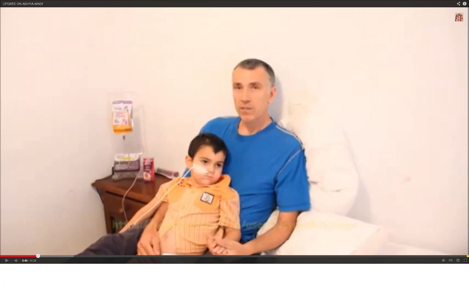 Ashya King's father explains why he took his son from hospital where he was receiving treatment for brain cancer. (YouTube)