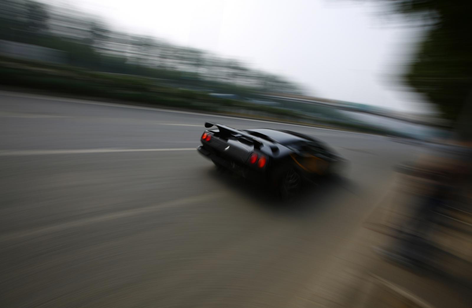 Lamborghini Samuel Shepard incident crash new york