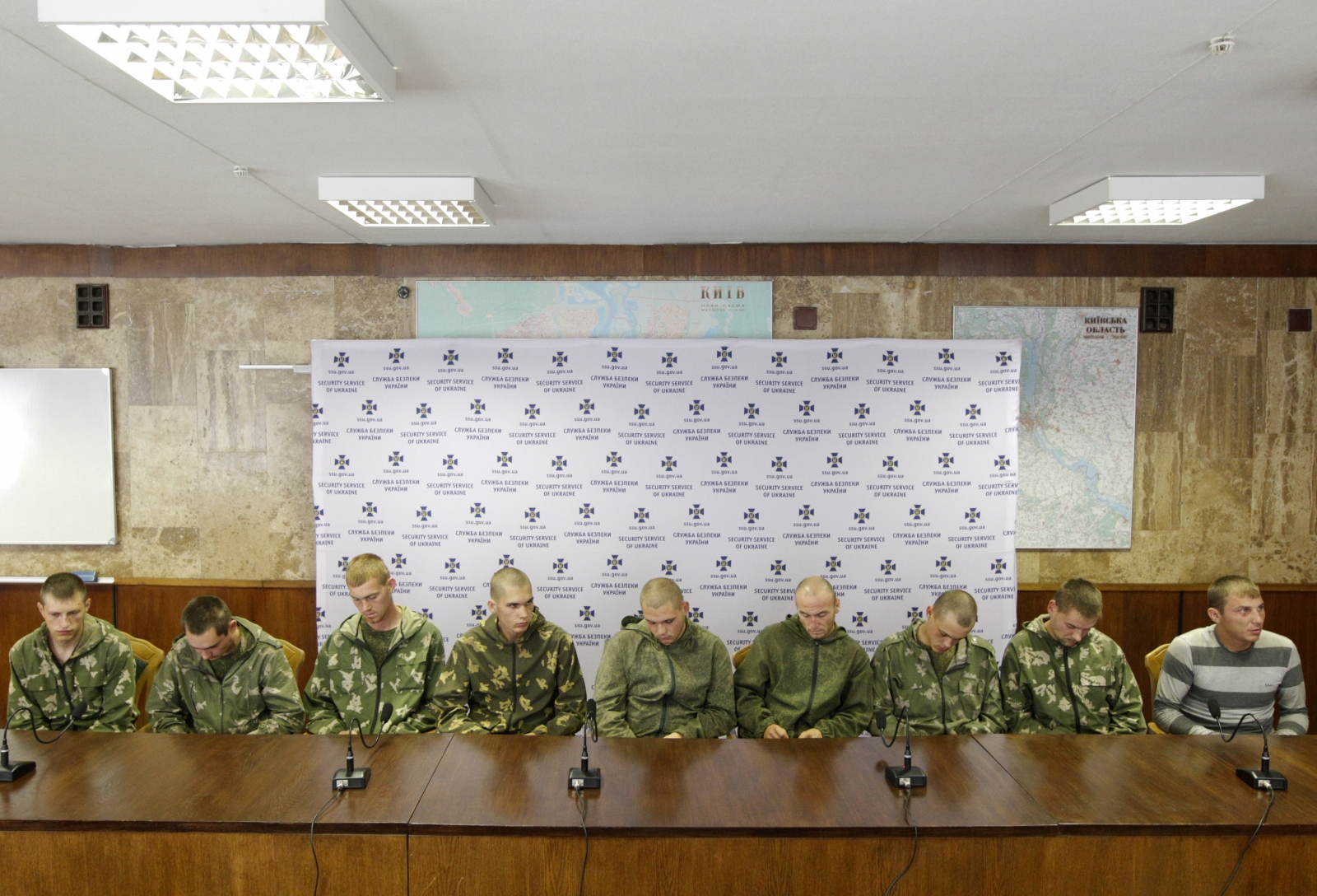 Russian soldiers captured Ukraine prisoner swap