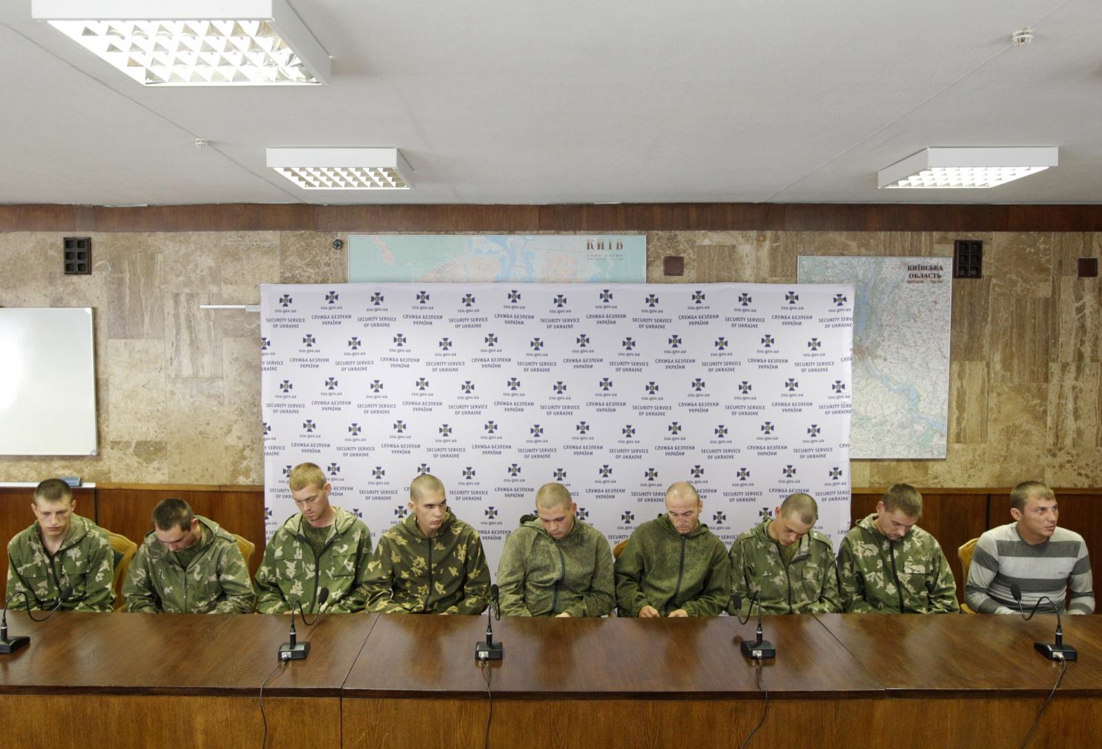 Russian soldiers captured Ukraine prisoner swap