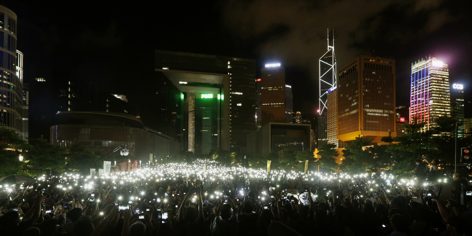 Occupy Hong Kong protest