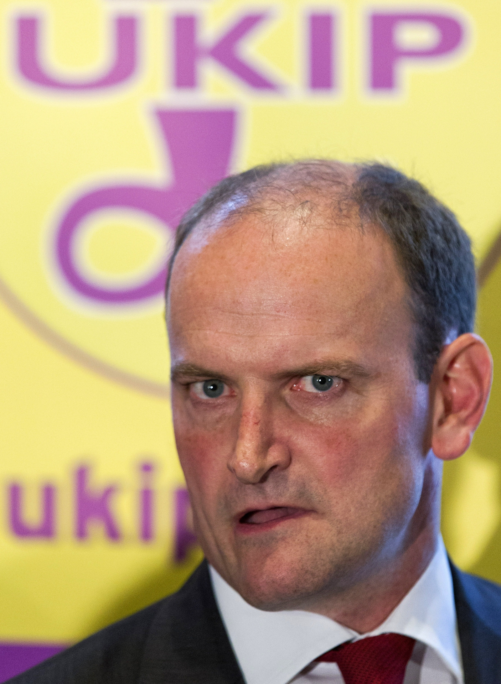 Douglas Carswell, whose defection to Ukip could hand the anti-immigration party their first parliamentary seat. (Getty)
