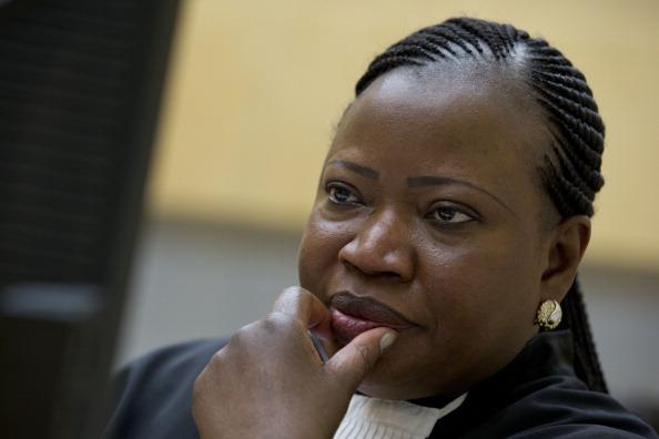 International Criminal Court (ICC) Chief Prosecutor Fatou Bensouda
