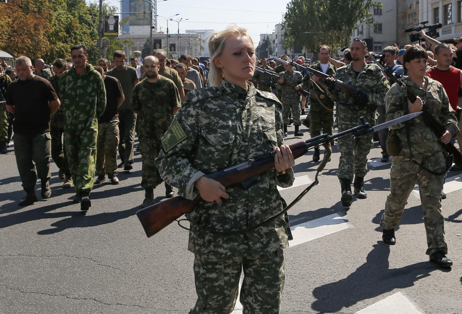 Donetsk separatists