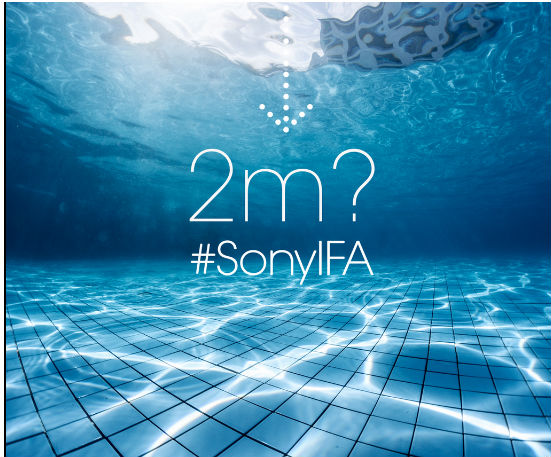 Next-Gen Sony Waterproof Smartphones and Tablets Teased by Sony Ahead of IFA 2014 Launch