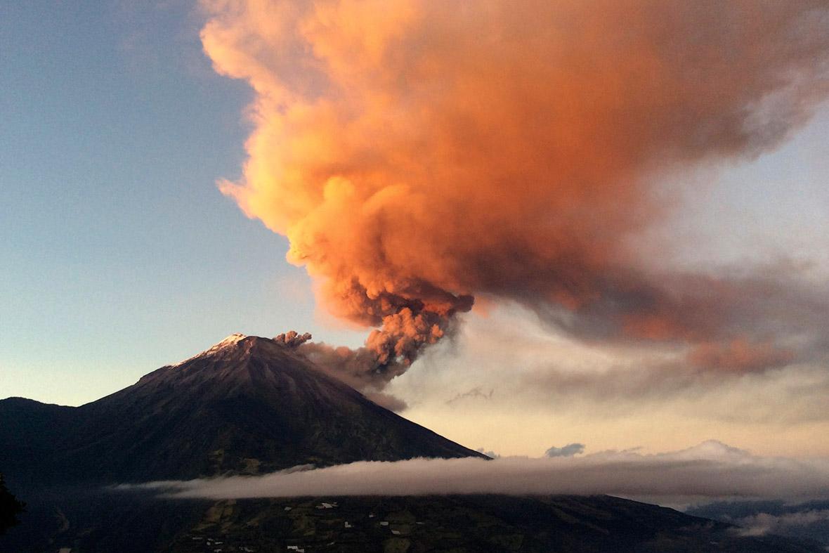 volcano ecuador