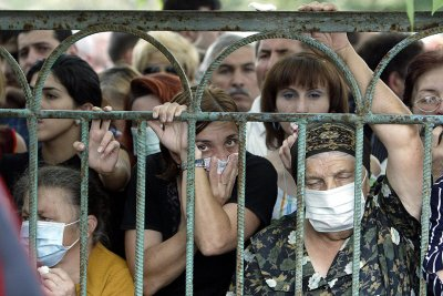 beslan school hostage crisis and masscare 2004