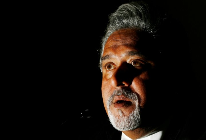 Indian industrialist Vijay Mallya.