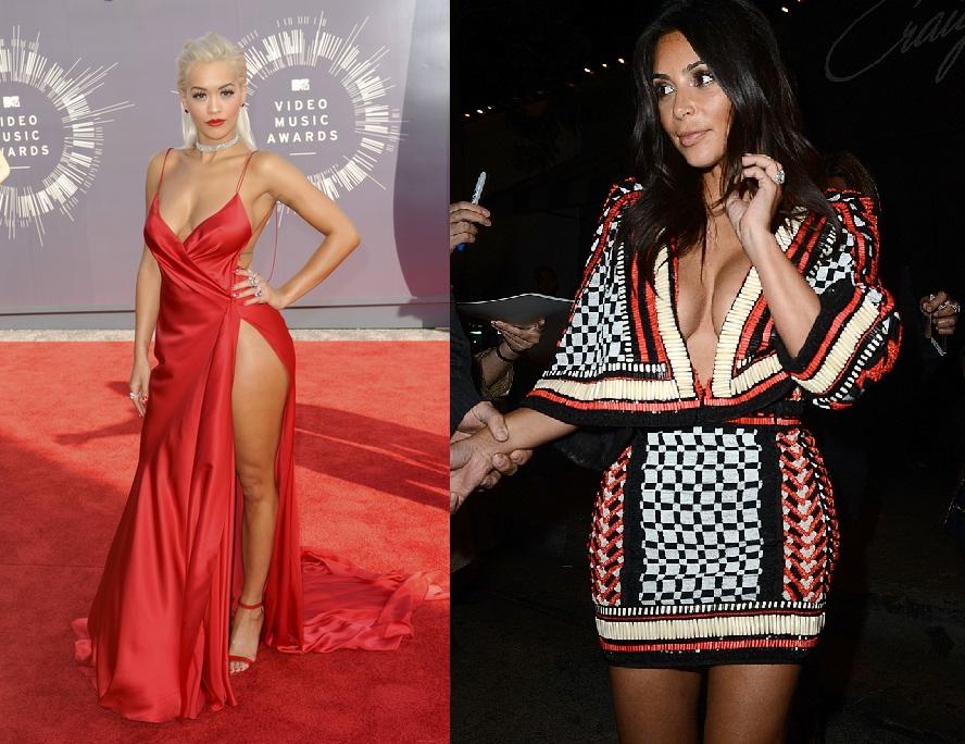 Rita Ora and Kim Kardashian