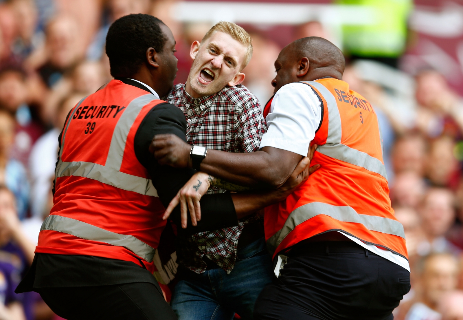 Pitch invader Jordan Dunn escapes life-time ban for taking free kick during West Ham vs Spurs