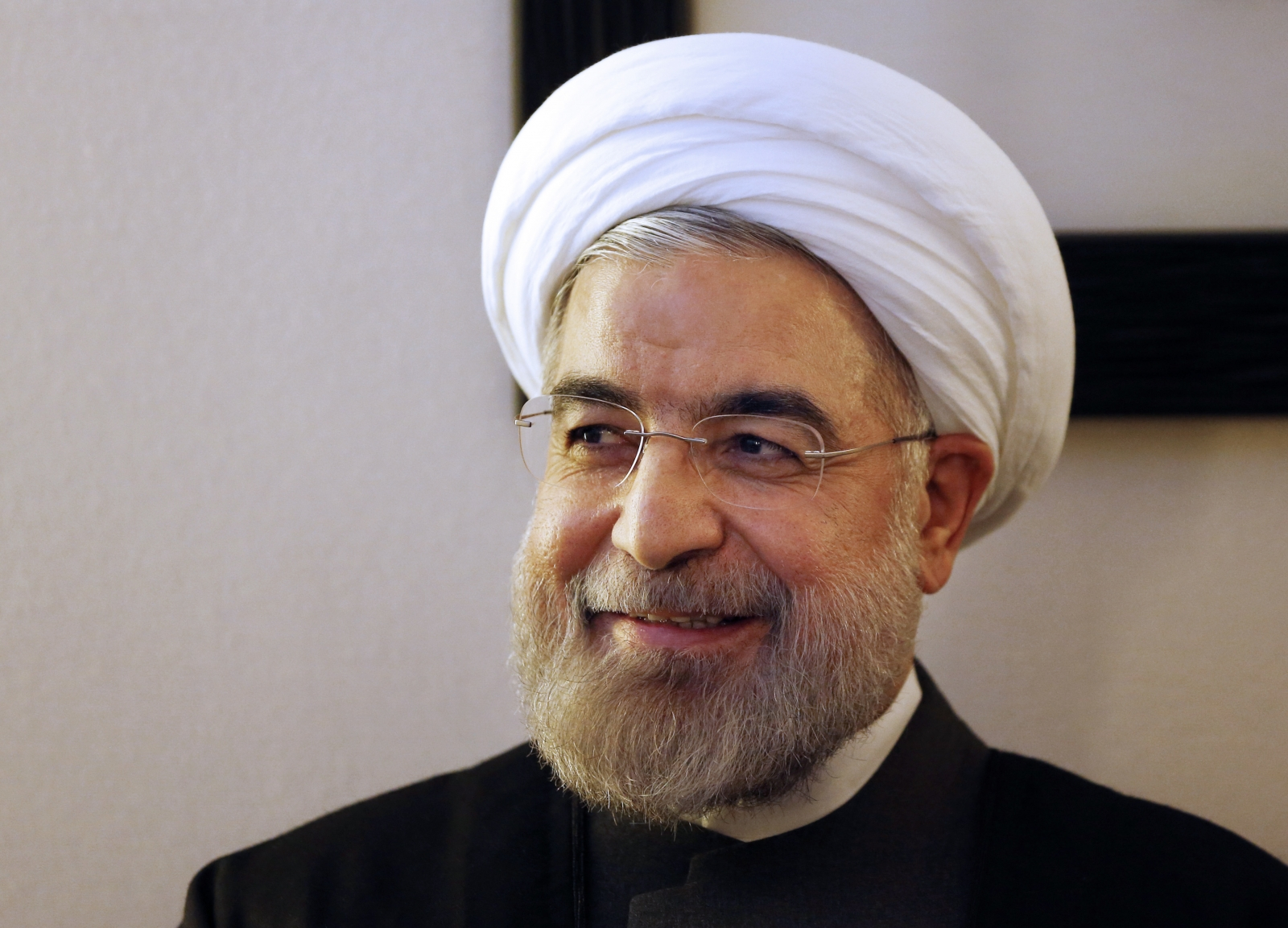 Hassan Rouhani - president of Iran
