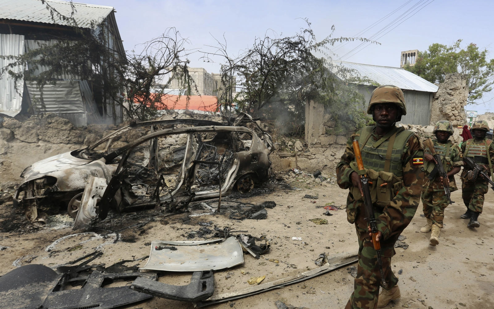 US airstrikes in Somalia against al-Shahab militants