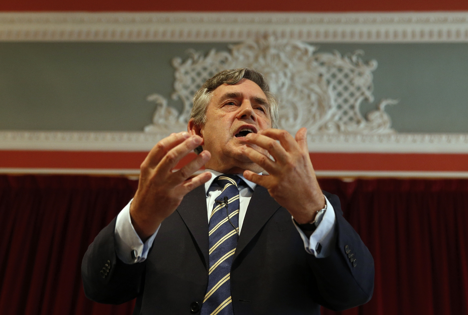 Former Prime Minister Gordon Brown warns about Scotland holding UK to a debt ransom