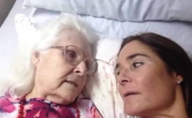 Alzheimer's sufferer video