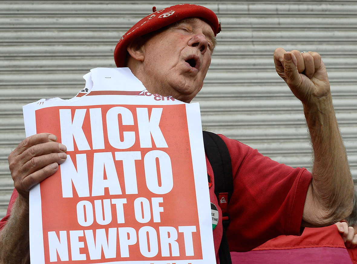 Nato summit Newport Wales