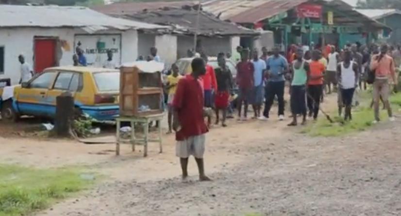 Ebola patient flees hospital Liberia
