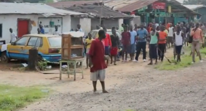 Ebola patient flees hospital Liberia