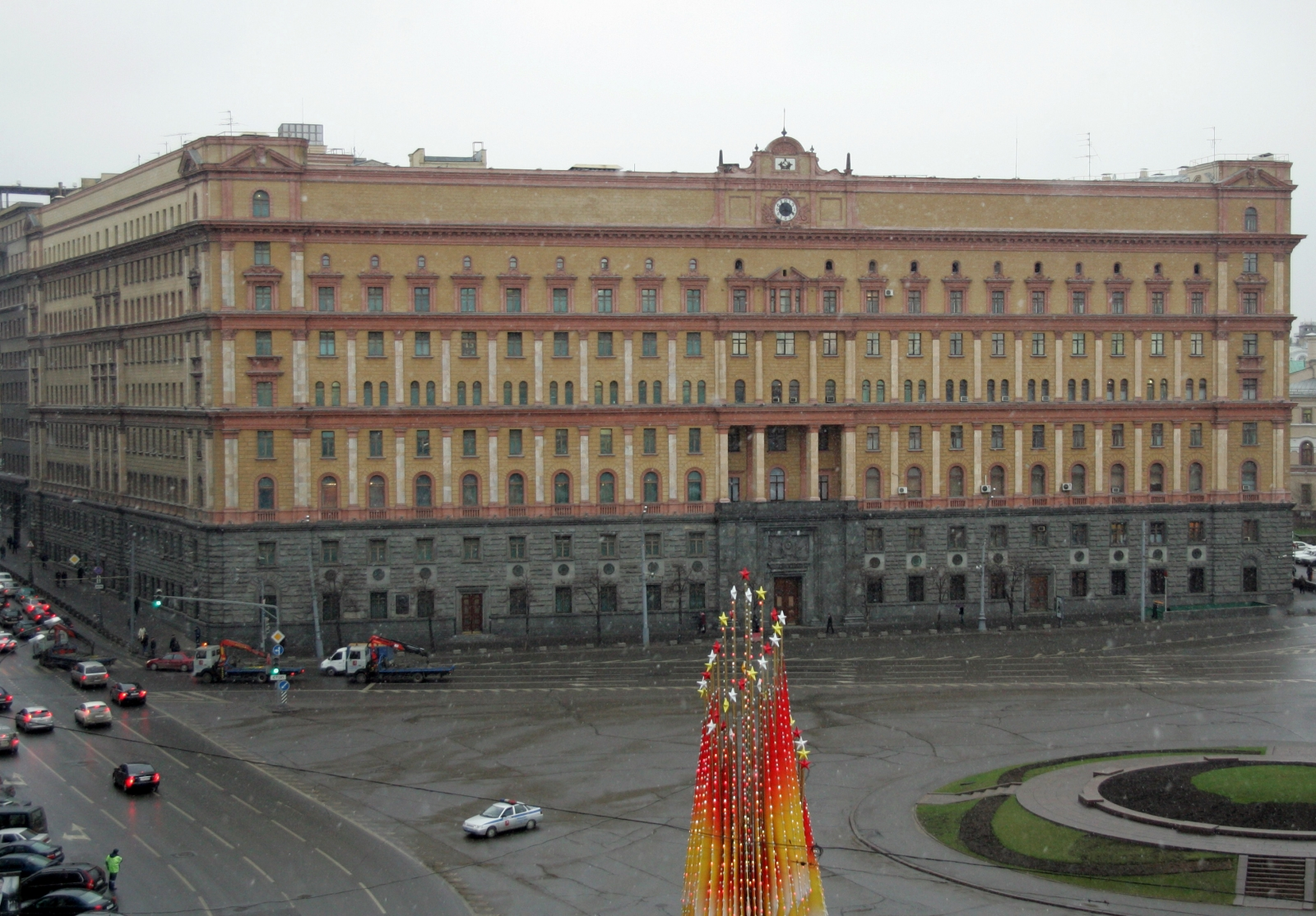 Lubyanka Square - Russia FSB security service headquarters
