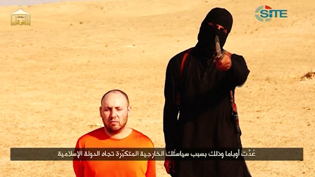 IS Video Shows Apparent Beheading of US journalist Steven Sotloff