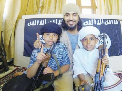 Al-Shayeq children isis