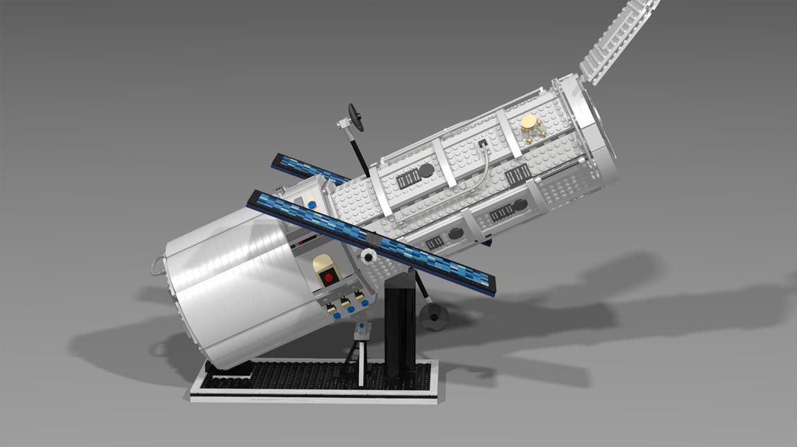 LEGO Hubble Telescope 4