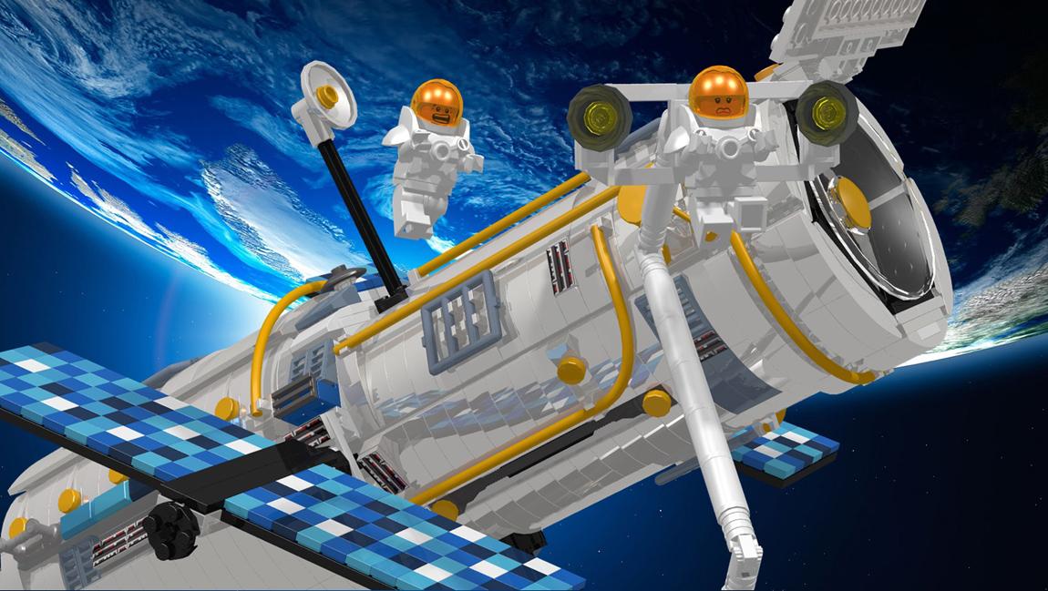 Lego Hubble Telescope 5