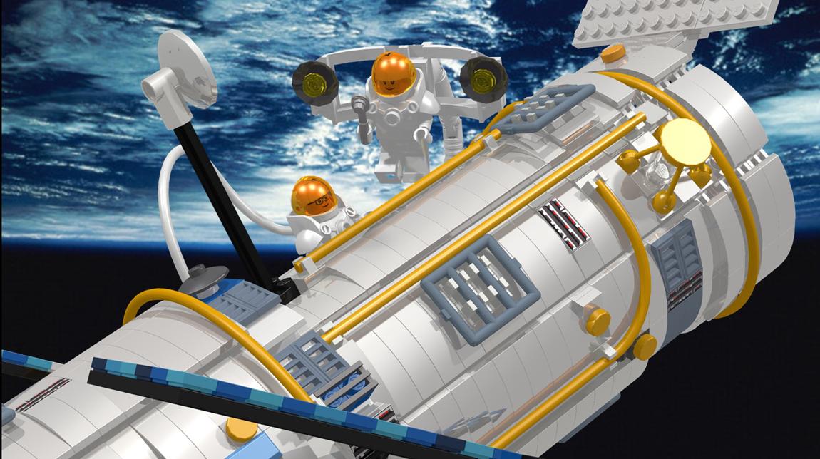 Lego Hubble Telescope 6